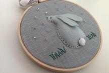 hoop art/embroidery