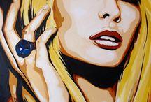 malované ženy