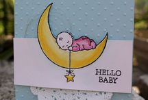 baby moon cards