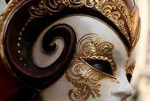 Венецианская маска, маска