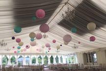 Paper lanterns / Paper lanterns- add little bit of fun to your big day!