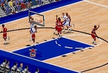 College Basketball Video Games / Retro Sports Gaming at http://www.retrosportsgamer.com / by Mr. Retro Sports