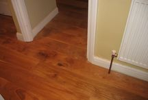 Wood Flooring In A Dining Room / Client: Private Residence In North London. Brief: To supply and install a wood floor.