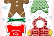 Paperdols kerst