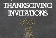 Thanksgiving / Tnksgiving