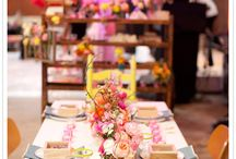 table settings/party decor / by Anne Harwell McElhaney