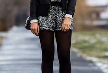 Cool Trend: Shorts with Tights