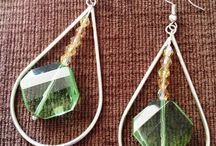 Earrings section - Handmade Jewels / Colours and sparkles on you!