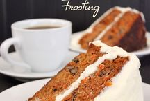Yesterfood : Classic Carrot Cake with Cream Cheese Frosting