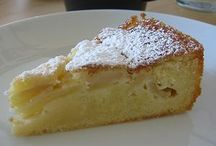 Leckere Kuchen, einfach und schnell / Apfel