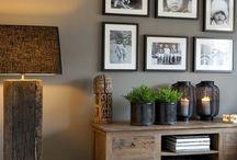 Living rooms decoração quadros etc