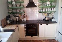 chata kuchyně