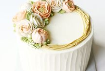 Çiçek figürlü pastalar