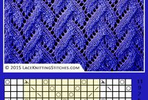 diagrams lace knitting