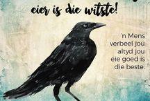 Afrikaans - Sayings