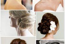 Wedding dress, nails & hair / Possible ideas