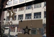 Dekorere jule vindue for = Oslo