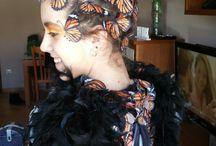 disfraz mariposa monarca