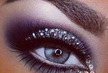 Lilák+makeup