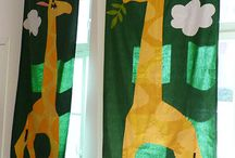 children curtains / curtains