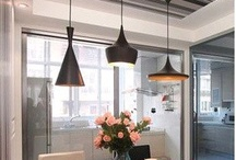 Pendant lights for kitchen / by Christa Sheffield