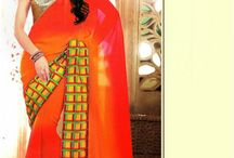 Velvete Sarees / Buy Designer Velvet Sarees, Latest Velvet Sarees and Velvet special sarees from Indian Sanskriti.