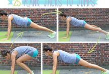 Fitness / fitness exercises