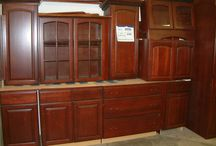 Kitchen Cabinets / Kitchen Cabinets the Woodstock ReStore has for sale.