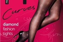 Grote maten panty Curves van Pretty Polly / Curves panty's in grote maten! Tot maat XXL oftewel maat 56-60. En dan niet alleen effen panty's, maar ook leuke fantasiepanty's!!!  Verkrijgbaar bij www.sexychic.nl