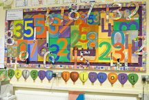 Classroom Decor / Pictures of decorated classroom displays.