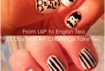 .:. 31 Day Nail Art Challenge Take Two .:.