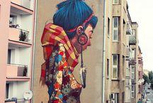 urban art - graffiti - murales
