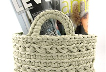 crochet baskets and bowls / by Gail Barrett