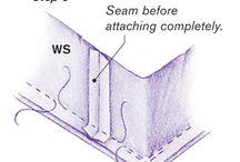 Naaien van hoeken,bodems (Box corners) / Het naaien van hoeken/bodems in tassen, manden (box corners)