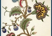 jacobean embroidery / Designs and inspiration.