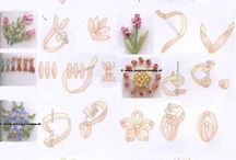 Ribbon embroidery: tutorials, schemes and ideas