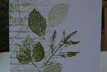 Marg cards - French Foliage
