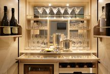 Mini bar & wine rack