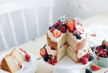 Süßes / Sehr lecker aussehende Kuchen und weiteres