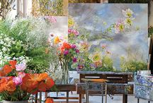 Artists in Bloom / See art come to life with impeccable inspiration from florals, botanicals, and everything art.