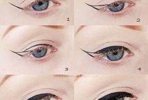 Trucco / Occhi eye liner