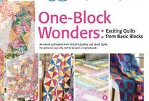 quilt one block wonders