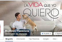 Social Media Placencia Muebles / Puedes contactarnos en cualquiera de estos medios digitales.