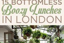London Boozy Brunches