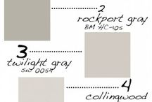 Paint Colors / by Cindy Fuller