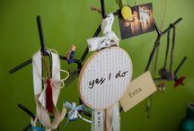 Romantic Wedding in Patras /yellow & grey palette