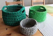 košík zelený