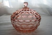 Depression Glass & Other Glassware / 20's 30's era glassware and other vintage glass  / by Laurel Lee McLaren