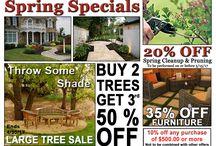 Sales, Specials & Events / Environmental Landscape Associates sales, specials, and events