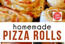 Homemade pizza rolls / Fun food